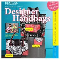 Jenny's Sewing Studio will teach Designer Handbags in August 2015. This is a great project to learn machine embroidery applique. Read more at this link. http://blog.jennys-sewing-studio.com/?p=4923