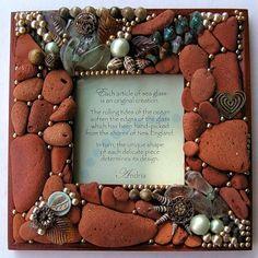 handmade и прочее интересное... - Стеклышки, выброшенные на берег..