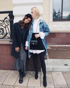 Смотри, как одеваются осенью самые модные девушки в Instagram