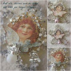 Где ностальгии и романтики встречаются ...: Vintage рождественские украшения ...