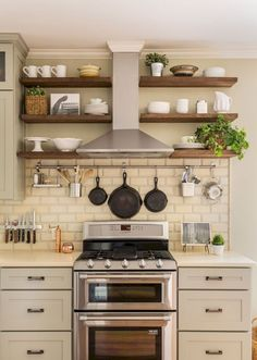 Small kitchen design & organization ideas (52)