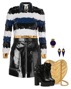 Untitled #1265 by renisin on Polyvore featuring polyvore, fashion, style, Sonia Rykiel, Isabel Marant, Yves Saint Laurent, MVMT and clothing