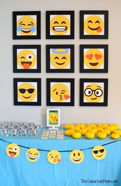 Emoji Party Decorations