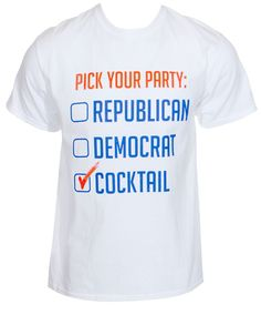 Pick Your Party Shirt