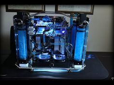 Bit-tech Mod of the Year 2015 In Association With Corsair by Bit-Tech Mod des Jahres 2015 In Zusammenarbeit mit Corsair . Gaming Pc Build, Gaming Pcs, Computer Build, Computer Setup, Computer Case, Gaming Computer, Best Gaming Setup, Gaming Room Setup, Pc Setup