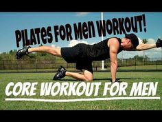 """▶ Sean Vigue's """"Pilates for Men!"""" Core Building Workout - YouTube"""