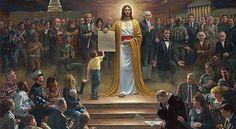 Jezus Christus is de Heer der heren en de Koning der koningen, zegt de Bijbel. Onderstaande bijbelgedeelten en schilderijen helpen je beseffen hoe majestueus Hij is.