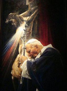 Juan Pablo II. Por tu carisma, sencillez y humildad, seguirás siendo un ejemplo siempre.