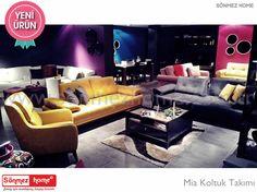 Mia Modern Koltuk Takımı yalın güzelliğini yaşam alanlarınıza sunuyor.. #Modern #Furniture #Mobilya #Mia #Koltuk #Takımı #Sönmez #Home