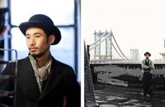 We spotted the cool style of Nishiyama Ikutaka and had to share it with you. We're loving his black bowler hat worn effortlessly with a variety of looks (hats are so hot right now). | www.lovefashion.co.za