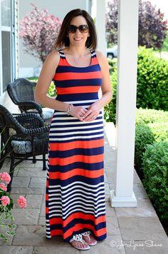 Alternatives to Shorts: Maxi Dress