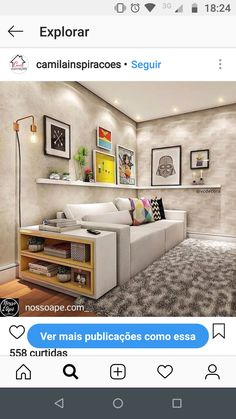 Small Spaces, Family Room, Living Room, Interior Design, Architecture, Storage, Salons, House, Furniture