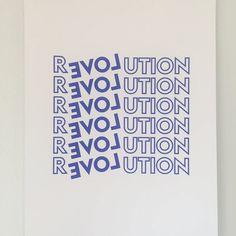 Field Trip Revolution Poster on Garmentory Screen Print Poster, Poster On, Revolution Poster, Paint Samples, Marca Personal, Joko, Typography Poster, Grafik Design, Wall Collage