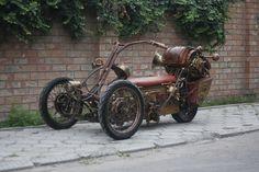 Steampunk Trike III завершение (Фото 3)