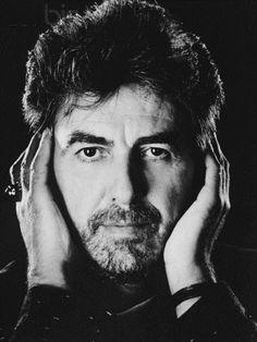 """George Harrison (ca. 1986 """"Hear no evil"""" Photo by Aaron Rapoport)"""