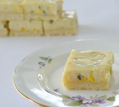 Easy Passionfruit Slice Recipe