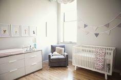 Una habitación de bebé muy dulce   Decorar tu casa es facilisimo.com