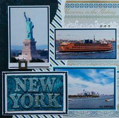 Departing New York - LEFT SIDE - Scrapbook.com