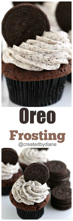 Oreo Frosting from @createdbydiane