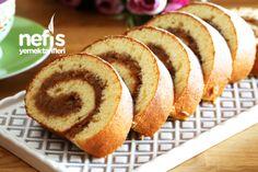 Elmalı Rulo Kek Food Picks, Homemade Beauty Products, Hot Dog Buns, Banana Bread, French Toast, Cheesecake, Deserts, Muffin, Food And Drink