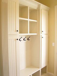 Mudroom with closet