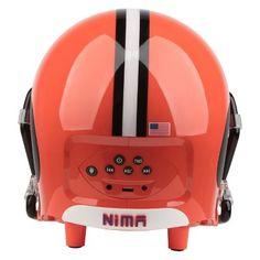 NFL Cleveland Browns 11 Nima Bluetooth Helmet Speaker - Brown Nfl Cleveland Browns, Cool Bluetooth Speakers, Bicycle Helmet, Target, Products, Cycling Helmet, Target Audience, Gadget, Goals