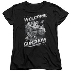 """Checkout our #LicensedGear products FREE SHIPPING + 10% OFF Coupon Code """"Official"""" Mighty Mouse / Mighty Gunshow - Short Sleeve Women's Tee - Mighty Mouse / Mighty Gunshow - Short Sleeve Women's Tee - Price: $29.99. Buy now at https://officiallylicensedgear.com/mighty-mouse-mighty-gunshow-short-sleeve-women-s-tee"""