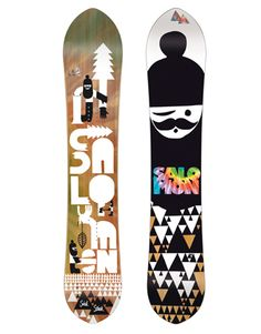 2009 Top Five…Or Six: Snowboard Graphics Chosen By The Transworld Snowboarding Art Department