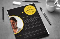 BUBBLES: CV TEMPLATE Get your resume a brand new look and standout among the crowd.