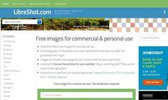 LibreShot es un banco de fotografías gratuitas de gran calidad que podemos descargar y usar libremente en proyectos personales y comerciales.