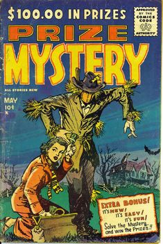Comic Book Cover For Prize Mystery v1 #1