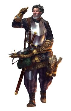 Male Human Bard Archaeologist - Pathfinder PFRPG DND D&D 3.5 5th ed d20 fantasy