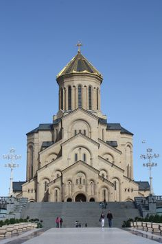 Holy Trinity Cathedral in Tibilisi