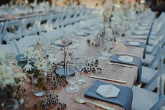 """128 Likes, 3 Comments - Together Journal (@togetherjournal) on Instagram: """"Gorgeous tables at the wedding of Mia and Mark, Photography by @nectarine / Flora by @covetcollect…"""""""