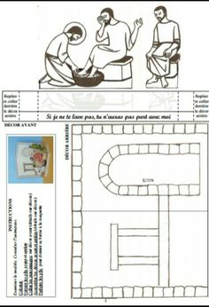 Sunday School Crafts For Kids, Sunday School Activities, Bible Activities, Catholic Religious Education, Bible Coloring Pages, Holy Week, Bible For Kids, Bible Crafts, Scandinavian Christmas