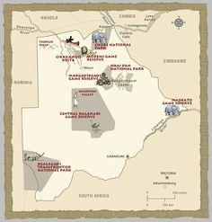 Botswana Game Parks.