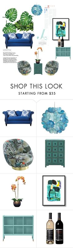 """""""#tranquil montages"""" by charity-blossom on Polyvore featuring interior, interiors, interior design, home, home decor, interior decorating, Furniture of America, Pier 1 Imports and MARIONI"""