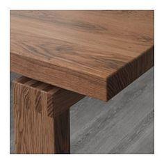 MÖRBYLÅNGA Bord, eikefiner, brun - IKEA