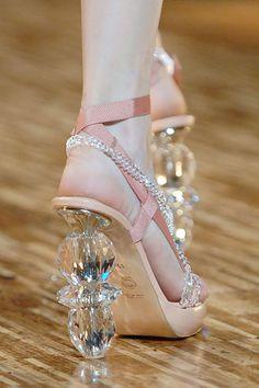 Glass heels!