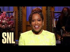 """Regina King made her 'Saturday Night Live' hosting debut tonight and kicked off her show remembering her """"pretty wild career."""" Regina King, Monologues, Saturday Night Live, Snl, First Time, Kicks, Career, Pretty, Youtube"""