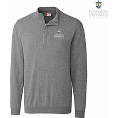 Cutter and Buck Concordia University Wisconsin 1/2 Zip Sweater $54.00