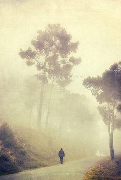 man in fog | Flickr - Photo Sharing!