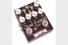 Wampler Dual Fusion Drive Guitar Effect Pedal is the signature pedal of Tom Quayle. Order yours today from Andertons! Guitar Effects Pedals, Guitar Pedals, Classic Blues, Chicago Shopping, Pedalboard, Guitar Amp, Smoothie, Toms, Music Instruments