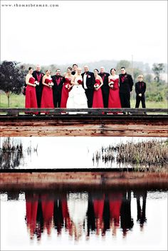 I thought I was use a couple of images that say Happy Valentine's Day for my image of the week. These photos are from Jen & Jeff's gorgeous red, black and white wedding at Riverview Country Club in Easton, PA. I am always a fan of reflections so this pond at Riverview was perfect! The …