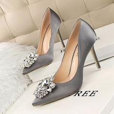 Hot 2016 Cute And Simple Rhinestone Wedding Heels Sandals For Girls Women Vintage Fashion Sexy Pointed Toe Evening Sandal High Heeled Shoes Valentine's Novelty Party Bridal Nude Platform Pumps Sandalias Shoes Zapatos Tacones De Mujer Wedding High Heels, Bridal Wedding Shoes, Prom Heels, High Heels Stilettos, Women's Pumps, Stiletto Heels, High Shoes, Party Wedding, Shoes Heels