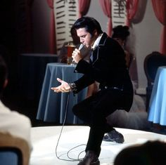 1968 Elvis filming NBC TV Special presented by the Singer Corporation