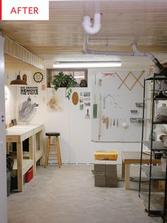 Before and After: This Dark Basement's Budget Reno Is Incredibly Inspiring