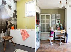 Colorful ans creative Dutch home