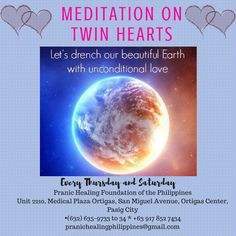 Feeling tired? Stressed? Or spiritually empty? Ease yourself from the aggravation of daily life by practicing the Meditation on Twin Hearts. It is an advanced meditation technique aimed at achieving illumination. It is also a form of 'world service' as the divine energy received during meditation will be used to bless the entire world.