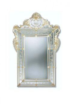 Murano Glass Mirror #298s